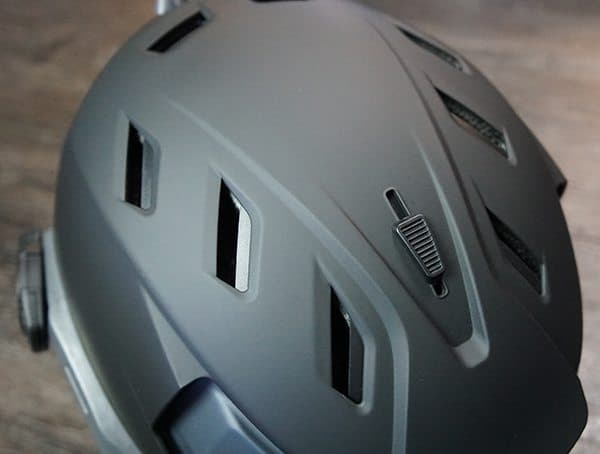 Team Wendy M 216 Helmet Partially Opened Vents