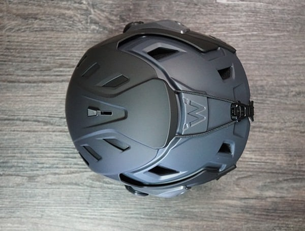 Team Wendy M 216 Helmet Review Back Top