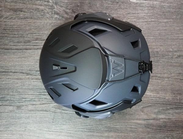 Team Wendy M 216 Helmet Review Back Top