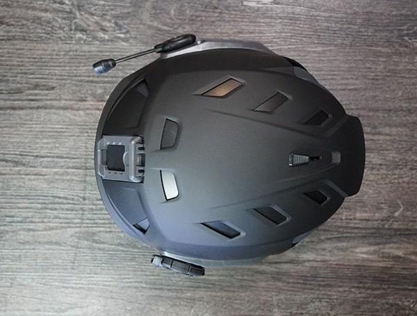 Team Wendy M 216 Helmet Review Front Top