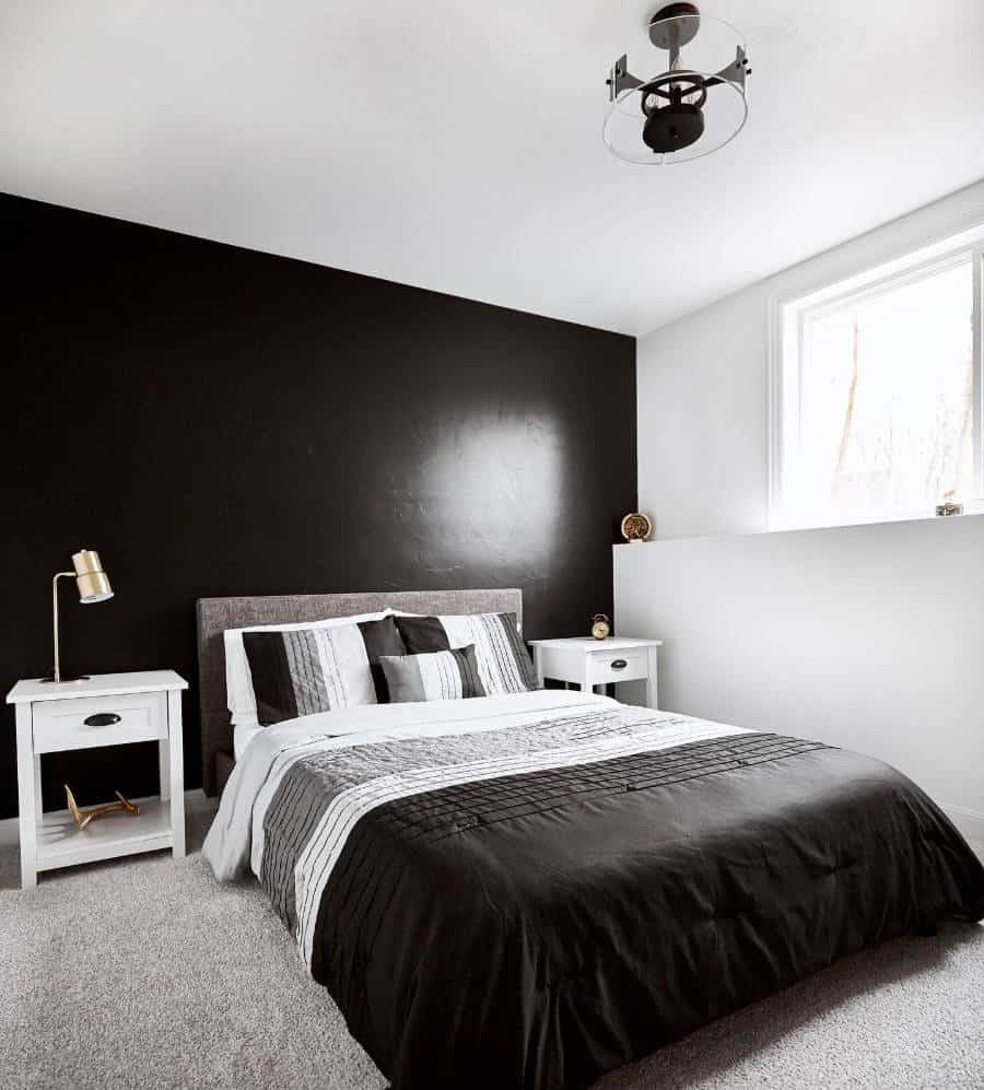 dark basement bedroom ideas