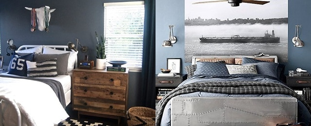 Top 70 Best Teen Boy Bedroom Ideas - Cool Designs For ... on Teenage Room Colors For Guys  id=86375