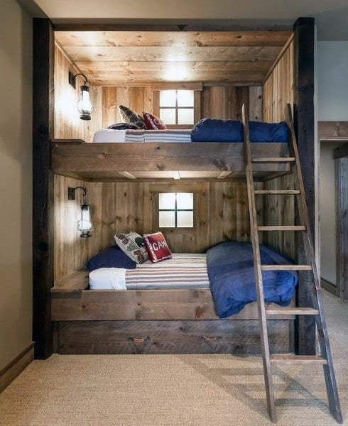 Teenage Bedroom Ideas With Bunk Beds