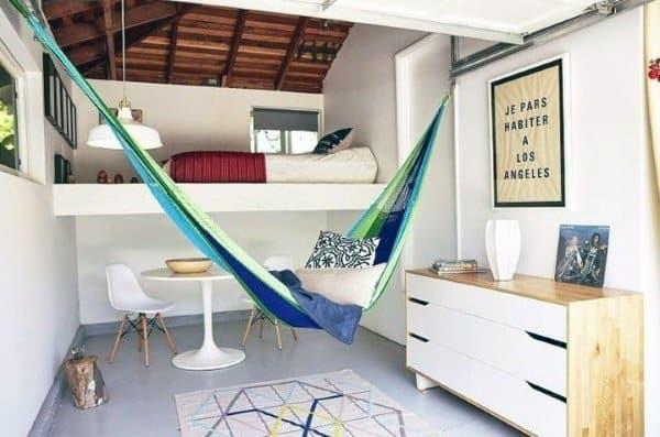 Teenager Bedroom Ideas Indoor Hammock