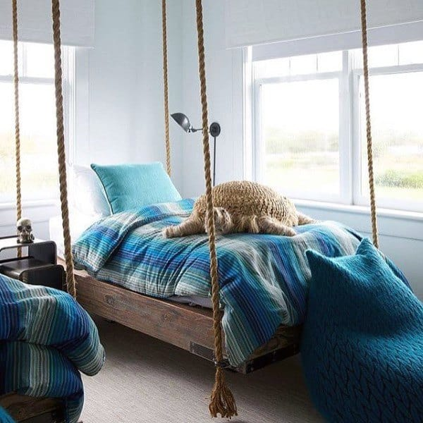 Teenager Twin Bed Hanging Bed Ideas