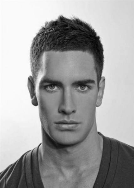 Trendy Men's Short Cool Hairstyle