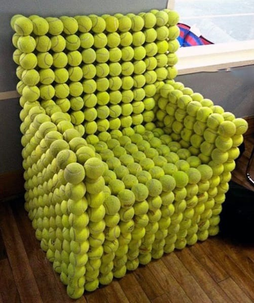 Tennis Ball Chair Diy Man Cave Ideas