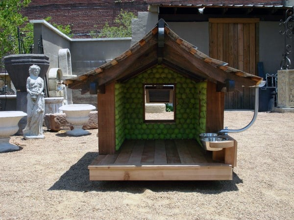 Tennis Ball Outdoor Dog House Designs