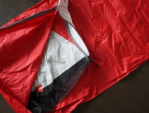 Tent Fabric With 15d Nylon Micromesh Material Msr Mutha Hubba Nx 3