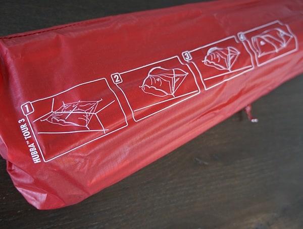 Tent Instructions On Stuff Sack Msr Hubba Tour 3