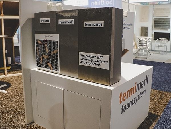 Termimesh Foam System 2019 Nahb Show Las Vegas