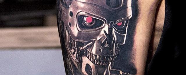 Terminator Tattoo Designs For Men