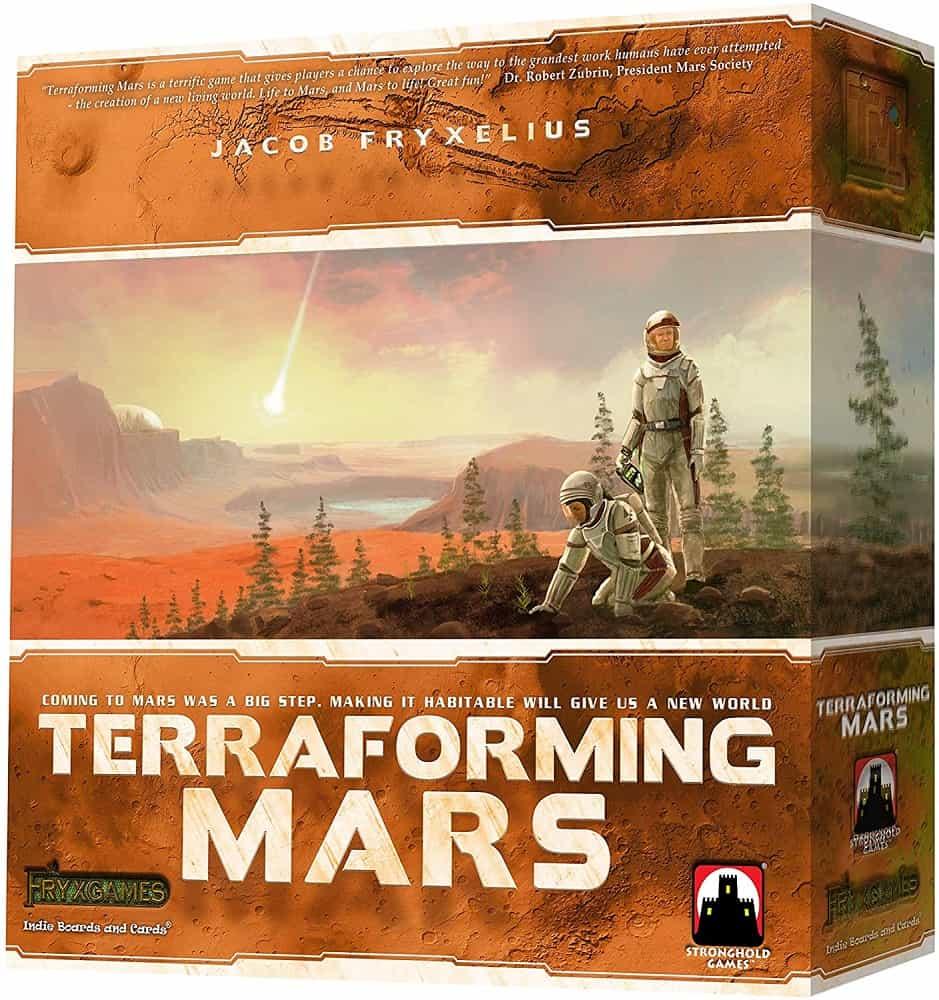 indie boards and cards terraforming mars board game multicolor