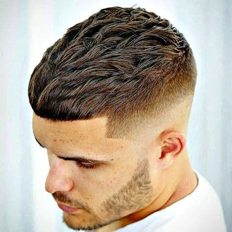 Textured Crop Bald Fade Haircut