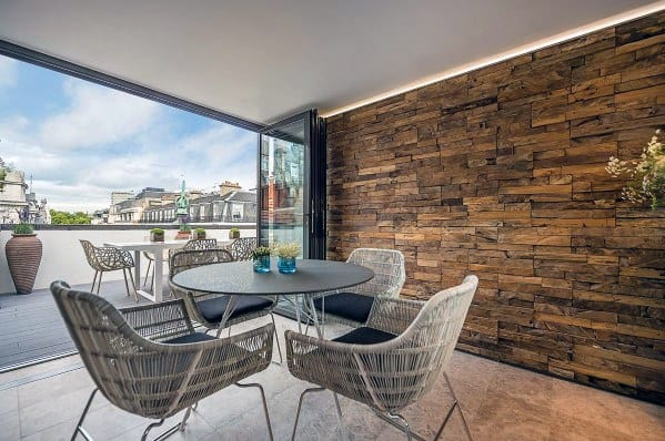 Textured Wall Design Idea Inspiration