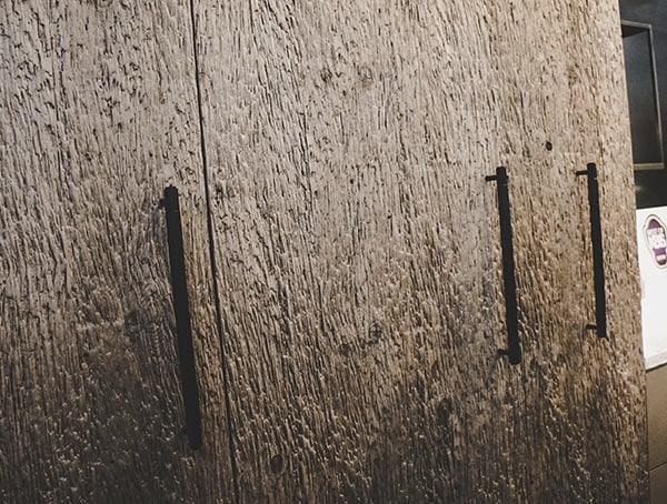 Textured Wood Kitchen Cabinet Doors Vegas Nahb Show 2019