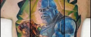 Top 91 Best Thanos Tattoo Ideas – [2020 Inspiration Guide]