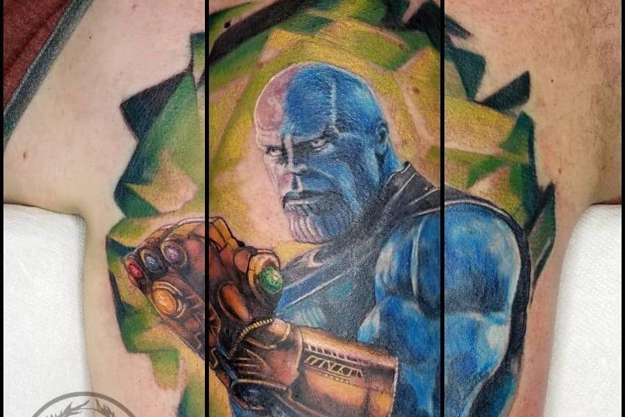 Top 91 Best Thanos Tattoo Ideas – [2020 Inspiration Guide]