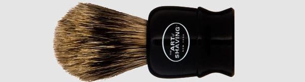 The Art of Shaving Black Travel Pure Brush