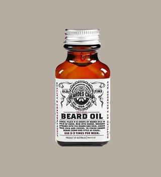 The Bearded Chap – Original Beard Oil