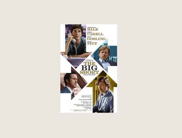 The Big Short Best Business Movies For Men