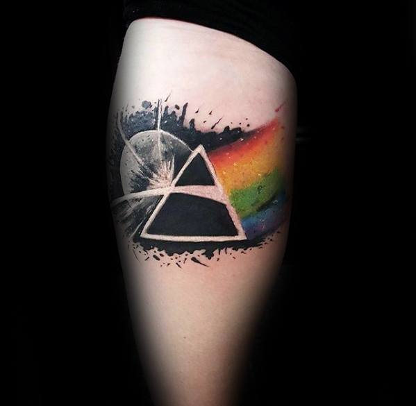 The Dark Side Of The Moon Pink Floyd Tattoos For Males