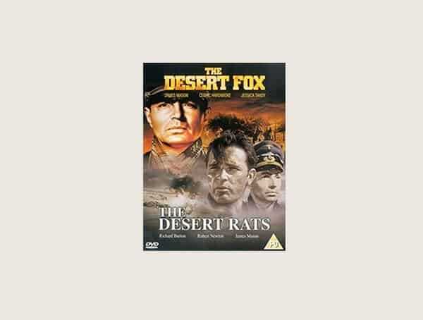 The Desert Fox Mens Best War Movies
