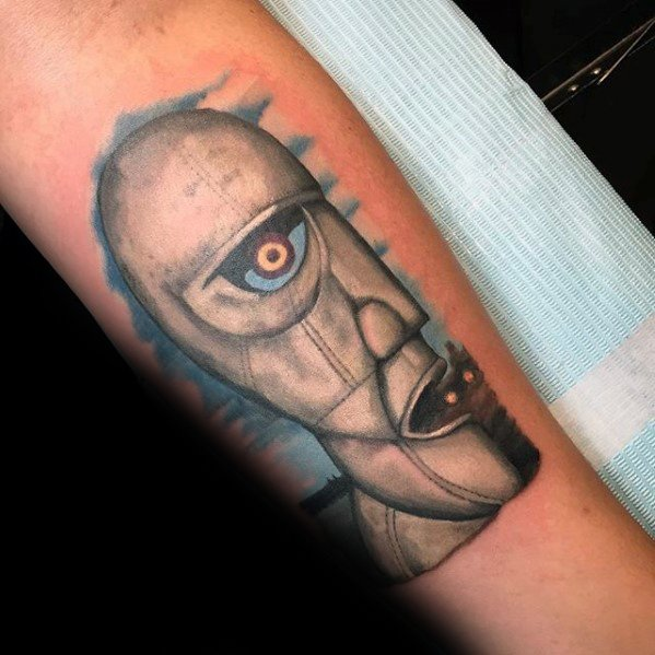 The Division Bell Pink Floyd Tattoo Ideas For Males