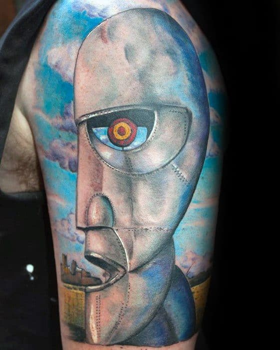 The Division Bell Pink Floyd Tattoos Male