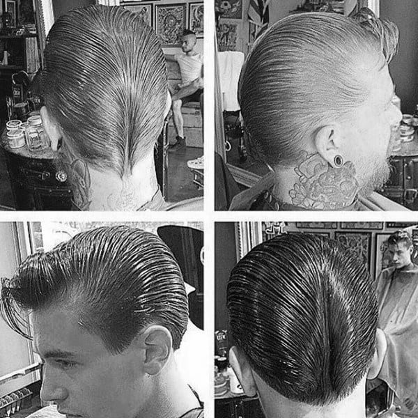 The Ducktail Hairstyle For Gentlemen