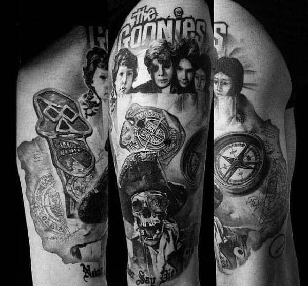 The Goonies Movie Tattoos