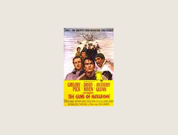 The Guns Of Navarone Best War Movies For Men