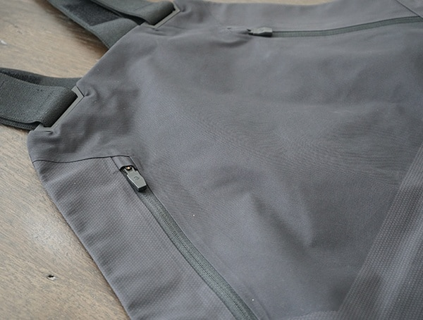 The North Face Fuse Brigandine Mens Bib Top Compartment Chest Pocket
