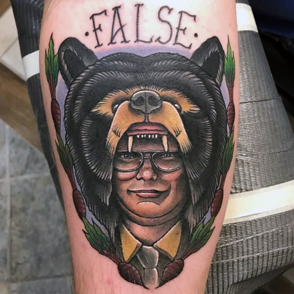 The Office Tattoo Inspiration For Men