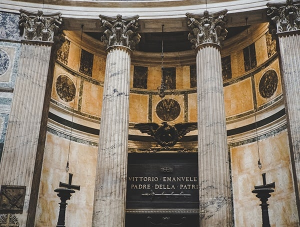 The Pantheon Rome Italy Inside