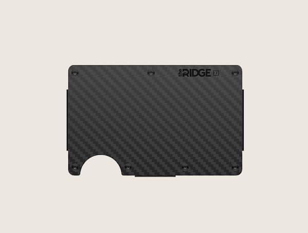 The Ridge Carbon Carbon Fiber Wallet For Men