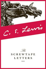 The Screwtape Letters Book For Men By CS Lewis