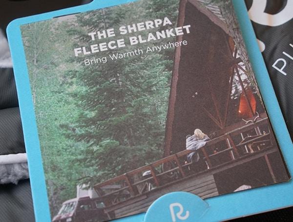 The Sherpa Fleece Blanket By Rumpl
