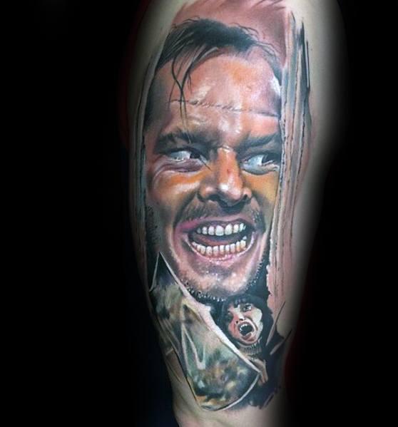 The Shining Good Horror Movie Tattoo Designs For Men