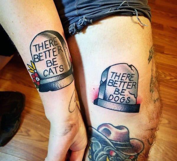 Tattoos ideen partner Beste Freundin