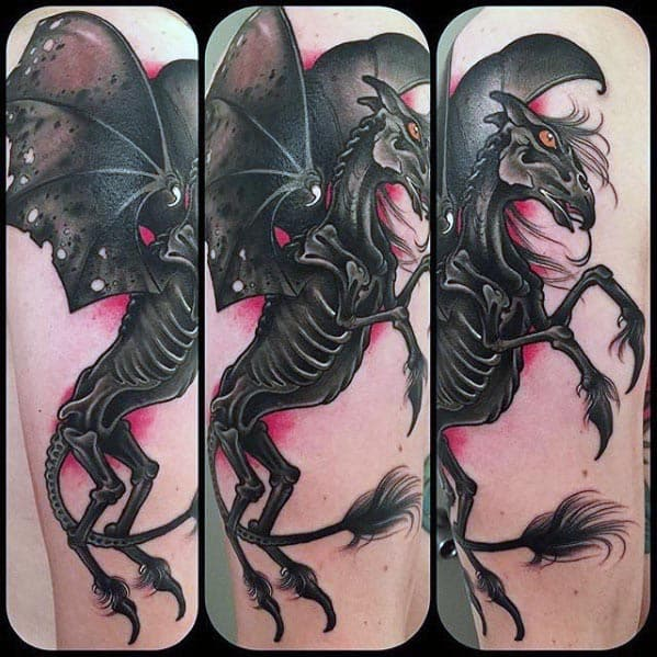 Thestral Guys Tattoo Ideas
