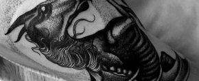 30 Thestral Tattoo Designs For Men – Harry Potter Ink Ideas