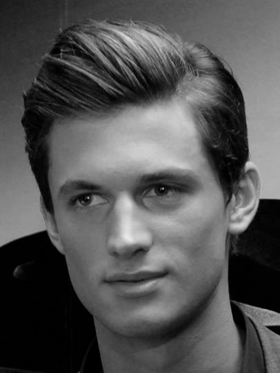 Thick Gel Modern Hairstyles For Men