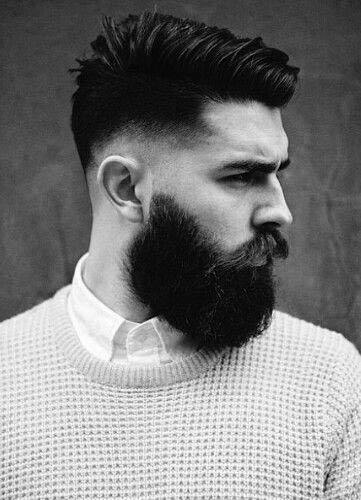 Thick Medium Length Mens Low Fade Hair
