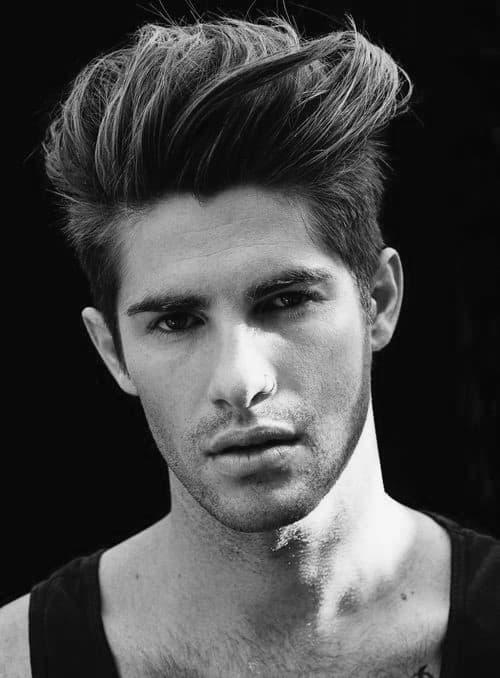 Awe Inspiring Quiff Haircut For Men 40 Manly Voluminous Hairstyles Short Hairstyles Gunalazisus