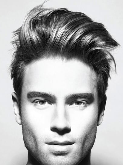 Thick Modern Hairstyles For Men