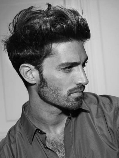 Thick Wavy Modern Hairstyles For Men