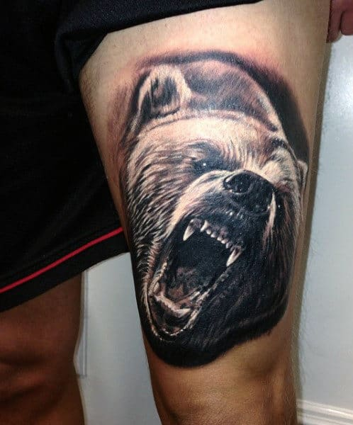 cf5c3fc10 60 Bear Tattoo Designs For Men - Masculine Mauling Machine
