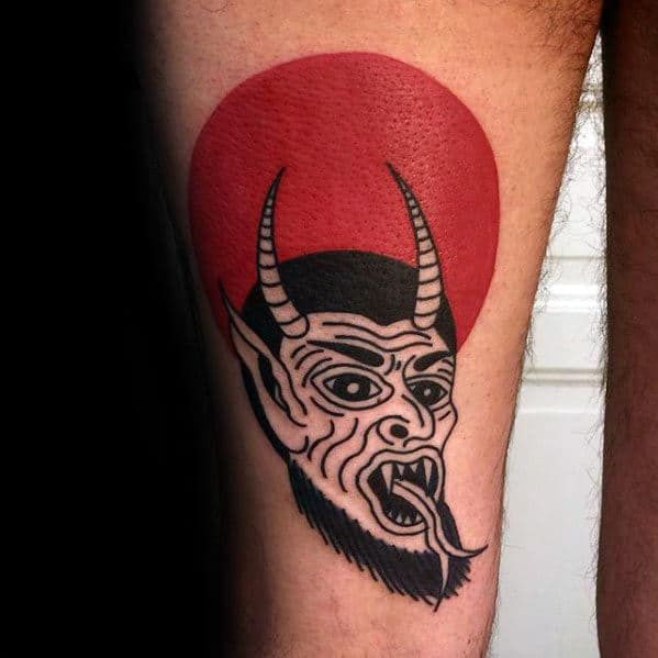 50 Traditional Devil Tattoo Designs For Men