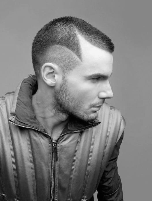 Thin Hair Buzz Cut For Men